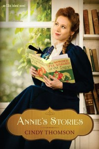 Annie's Stories heart pin