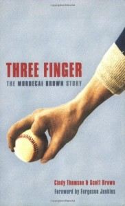 Three Finger by Cindy Thomson and Scott Brown