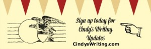 Cindy Thomson's Newsletter Signup