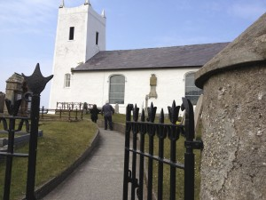 Ballintoy Church from author Cindy Thomson