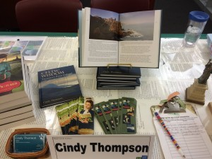 Cindy Thomson's author table