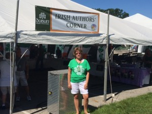 Author Cindy Thomson at Dublin Irish Festival